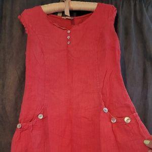 Miss Sugar London Linen Dress
